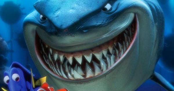 نتيجة بحث الصور عن القرش فى فيلم (العثور على نيمو)